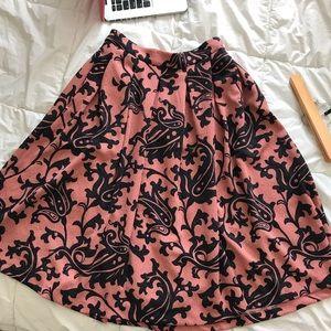 H&M A Line Skirt W/ Pockets